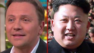 Gönczi Gábor Kim Dzsongun-hajjal vallotta be a Mokkában, hogy nagy, de gömbalakú feje van