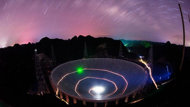 Turistaparadicsomot épít Kína a legnagyobb rádióteleszkóp mellé