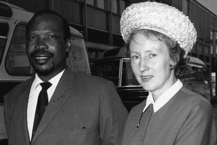 Seretse Khama és Ruth Williams