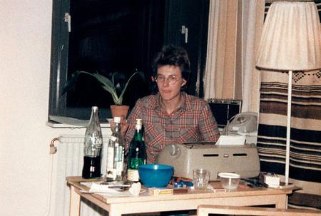 Larsson a nyolcvanas évek elején antifasiszta és antirasszista cikkeket írt a Searchlight nevű lapba (Fotó: Joakim Larsson)