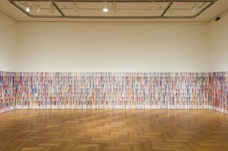 Rivane Neuenschwander I wish your wish kiállítása (Fotó: New York-i Kortárs Művészeti Múzeum)