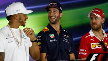 Hamilton: Vettel alig bír magával