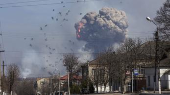 Halálos áldozata van az ukrajnai lőszerraktártűznek