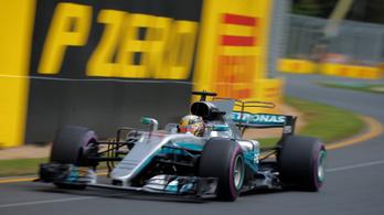 Hamilton uralta az ausztráliai edzéseket