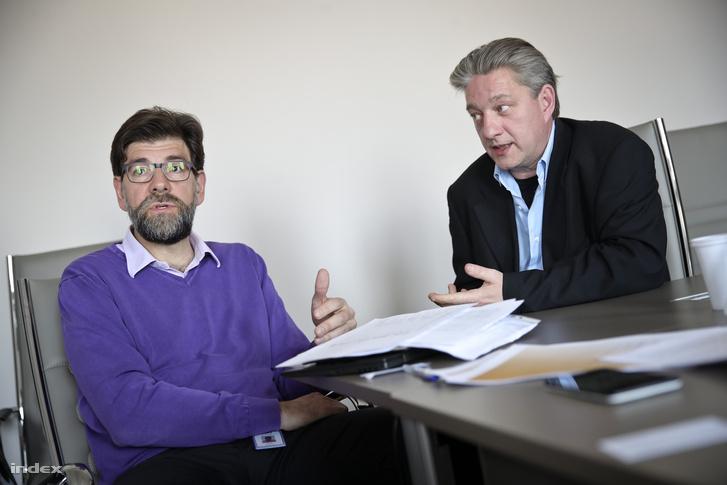 Goran Buldioski és Nizák Péter