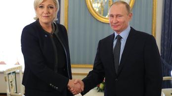 Le Pen Putyin Moszkva