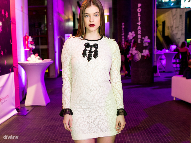 Palvin Barbara Gucci ruhát vett az eseményre.