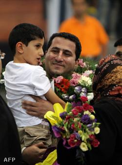 Sharam Amiri hazaérkezett Teheránba