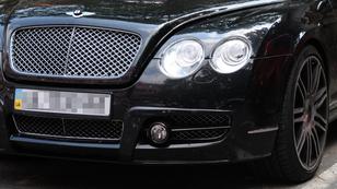 Megkerült Eto'o Bentley-je