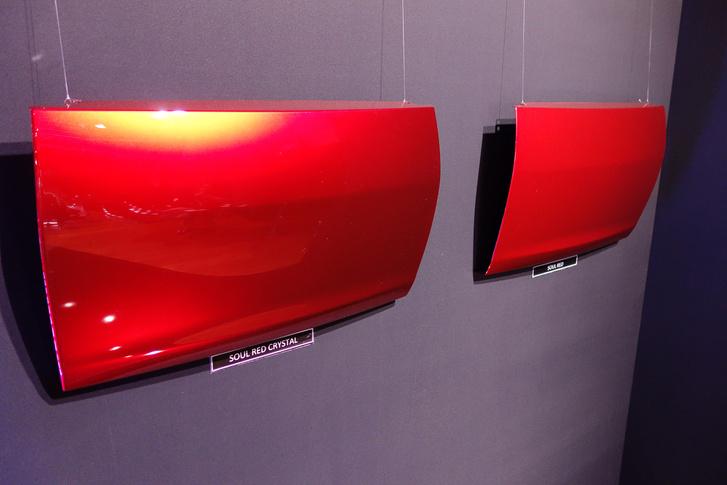 Balra az új Soul Red, jobbra a régi. (Drága kis Sonym egyik utolsó fotója)