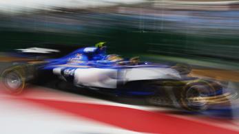 Az új F1-kocsikkal nem lehet viccelni, egy pilóta vissza is táncolt