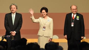 Először a történelemben nő kormányozza Hongkongot