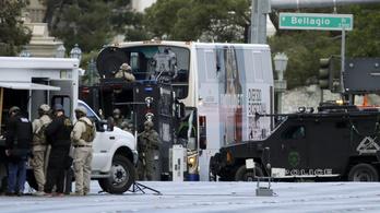 Buszon lövöldözött egy férfi Las Vegasban