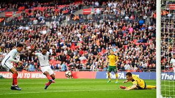 3,5 év után volt újra angol válogatott, naná, hogy gólt lőtt