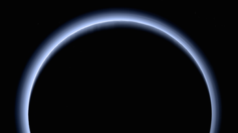 Lenyűgöző, minden eddiginél szebb felvétel a Plútó légköréről