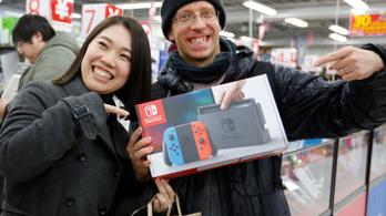 Nem biztos, hogy jut a karácsonyfa alá Nintendo Switch