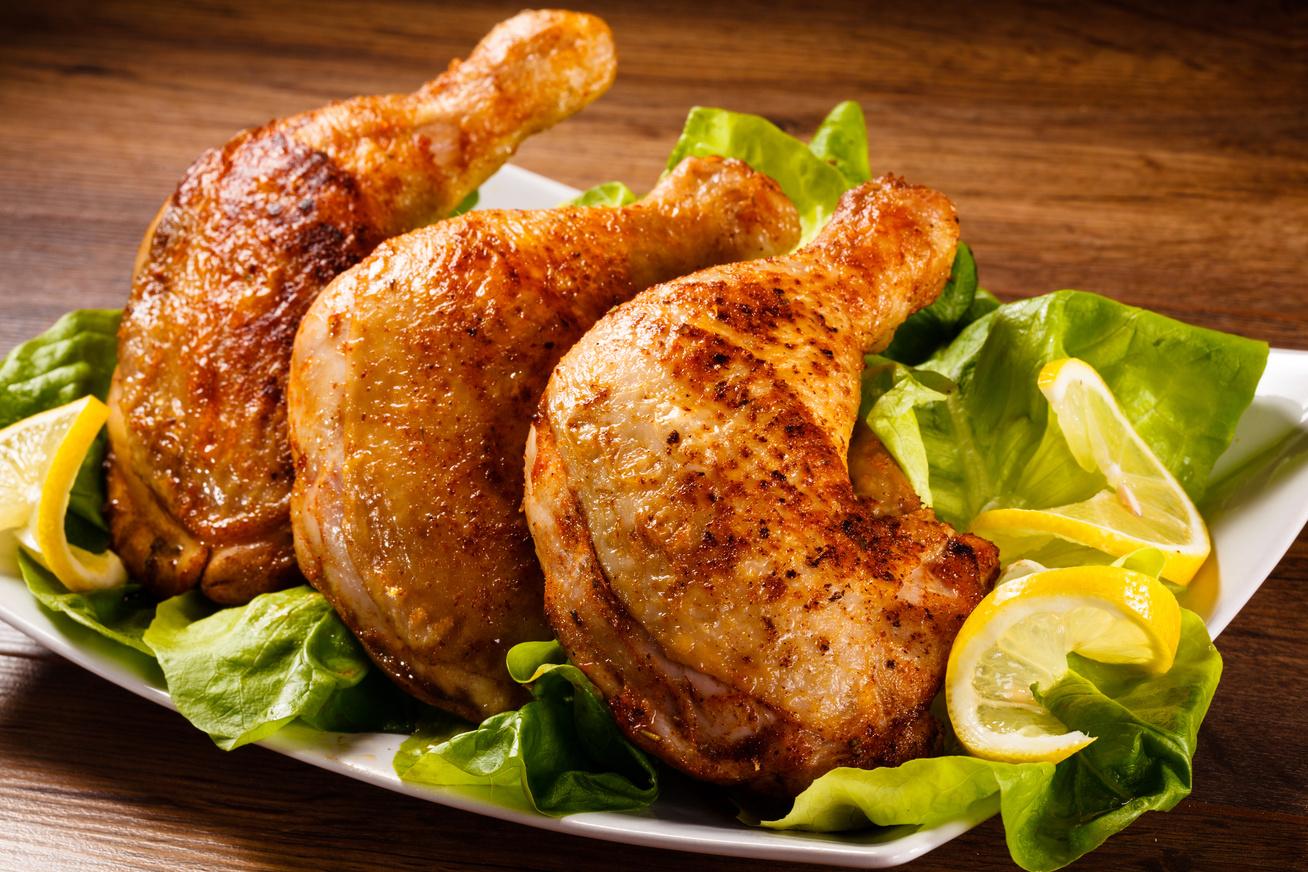 Májjal töltött csirkecomb - Lágy töltelék és ropogósra sült, zamatos hús