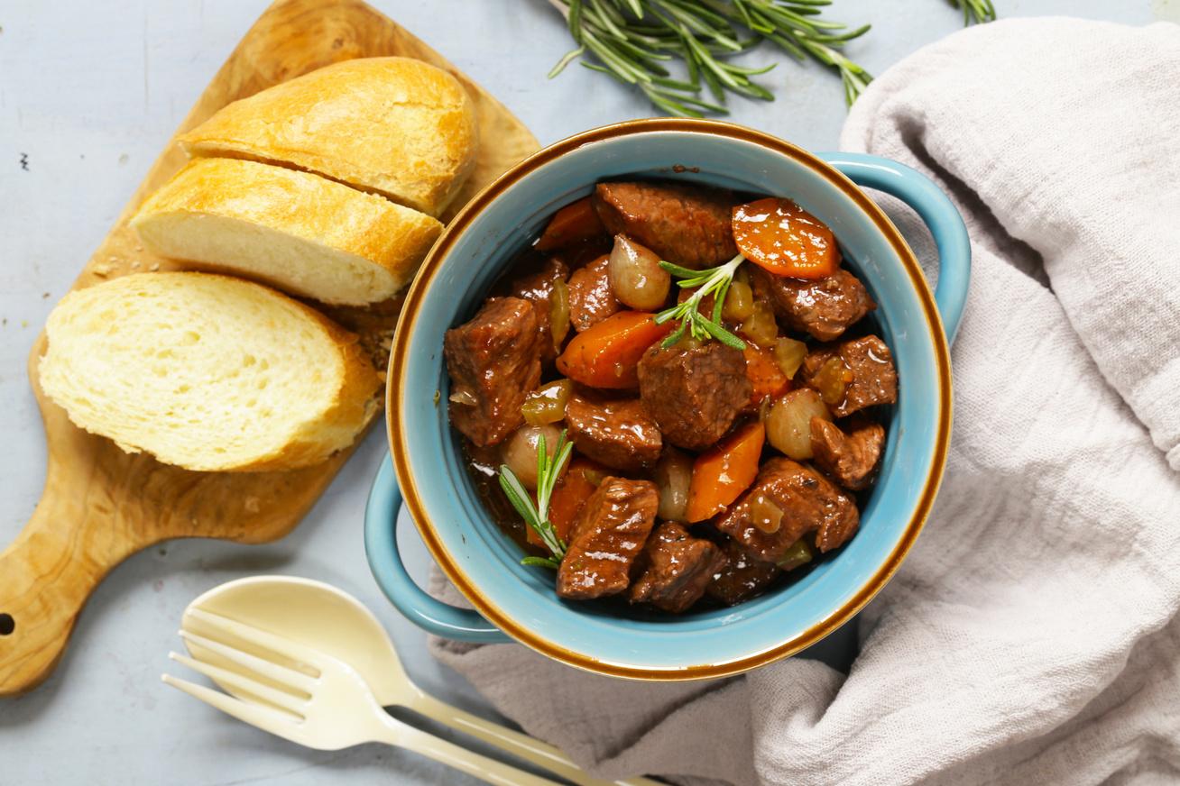 A híres burgundi marharagu receptje egyenesen Franciaországból