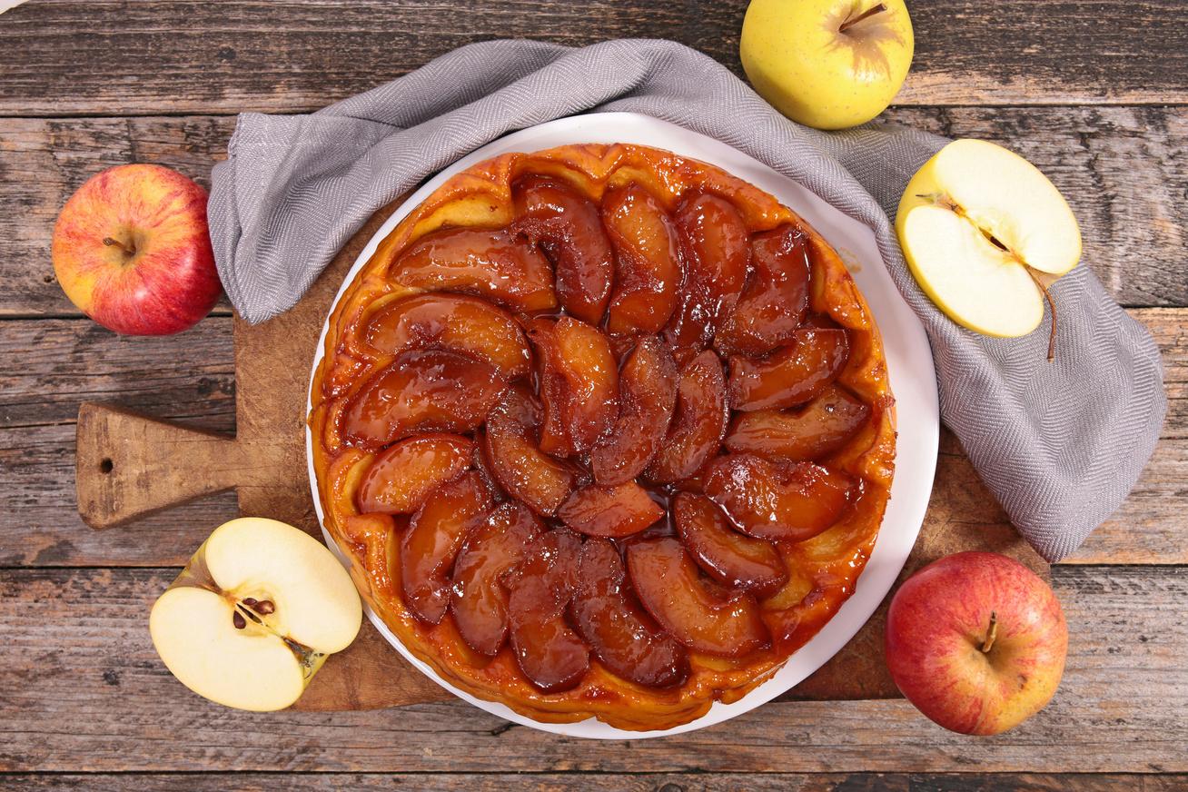 Karamellás fordított almatorta - Így készül a tökéletes tarte tatin
