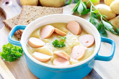 Sűrű krumplifőzelék rohanós napokra - Gyorsan elkészíthető, olcsó finomság