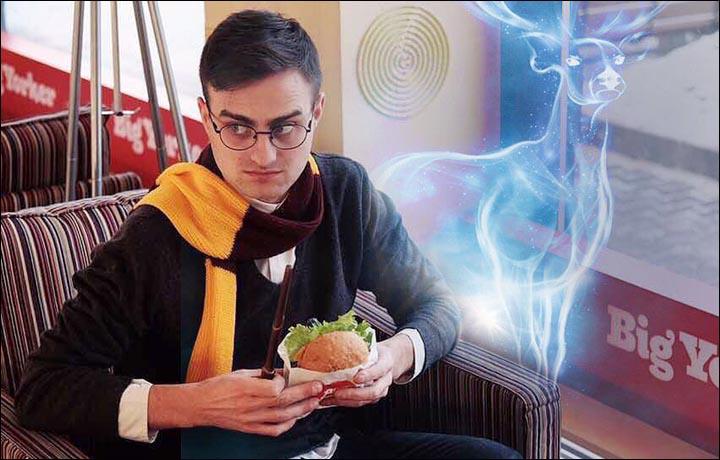 Nikolay Posled öt éve formálódott Daniel Radcliffe, vagyis Harry Potter hasonmásává