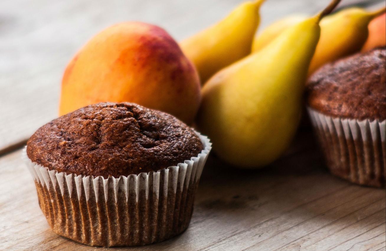 Puha duplacsokis-körtés muffin