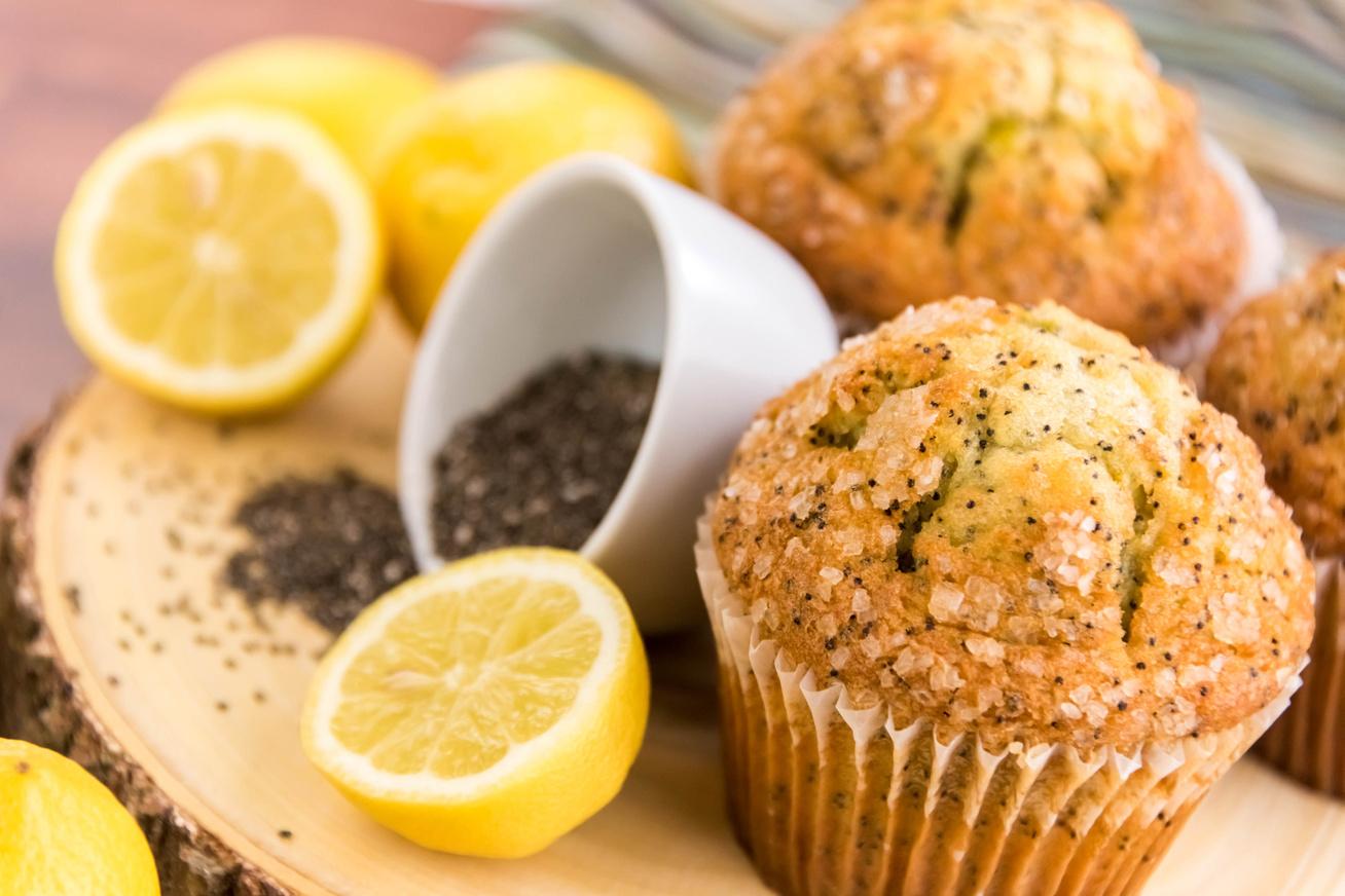 30 perces citromos-mákos muffin