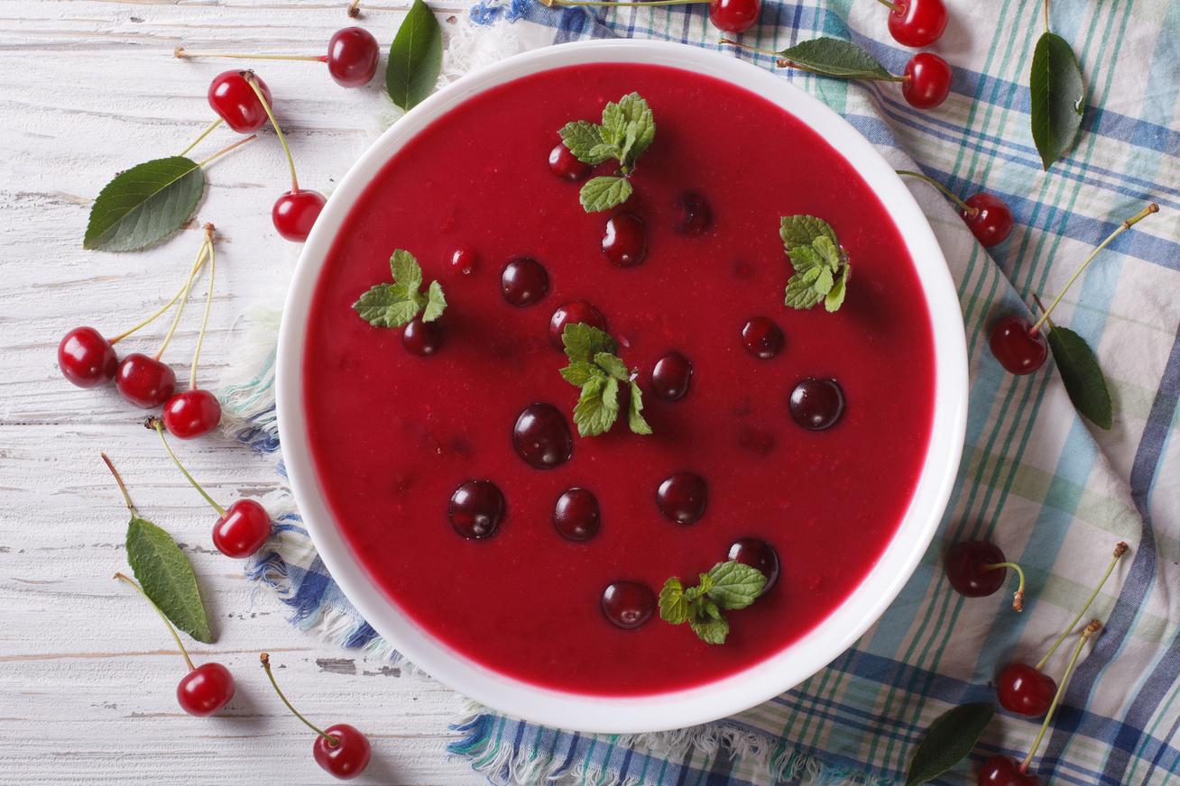 20 perces nyári gyümölcsleves: nincs benne sok kalória