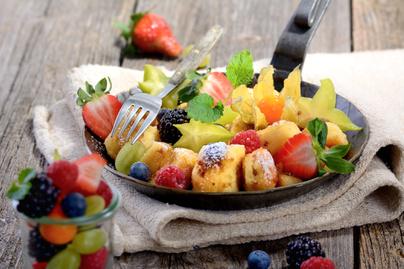 A legfinomabb császármorzsa receptje nyári változatban