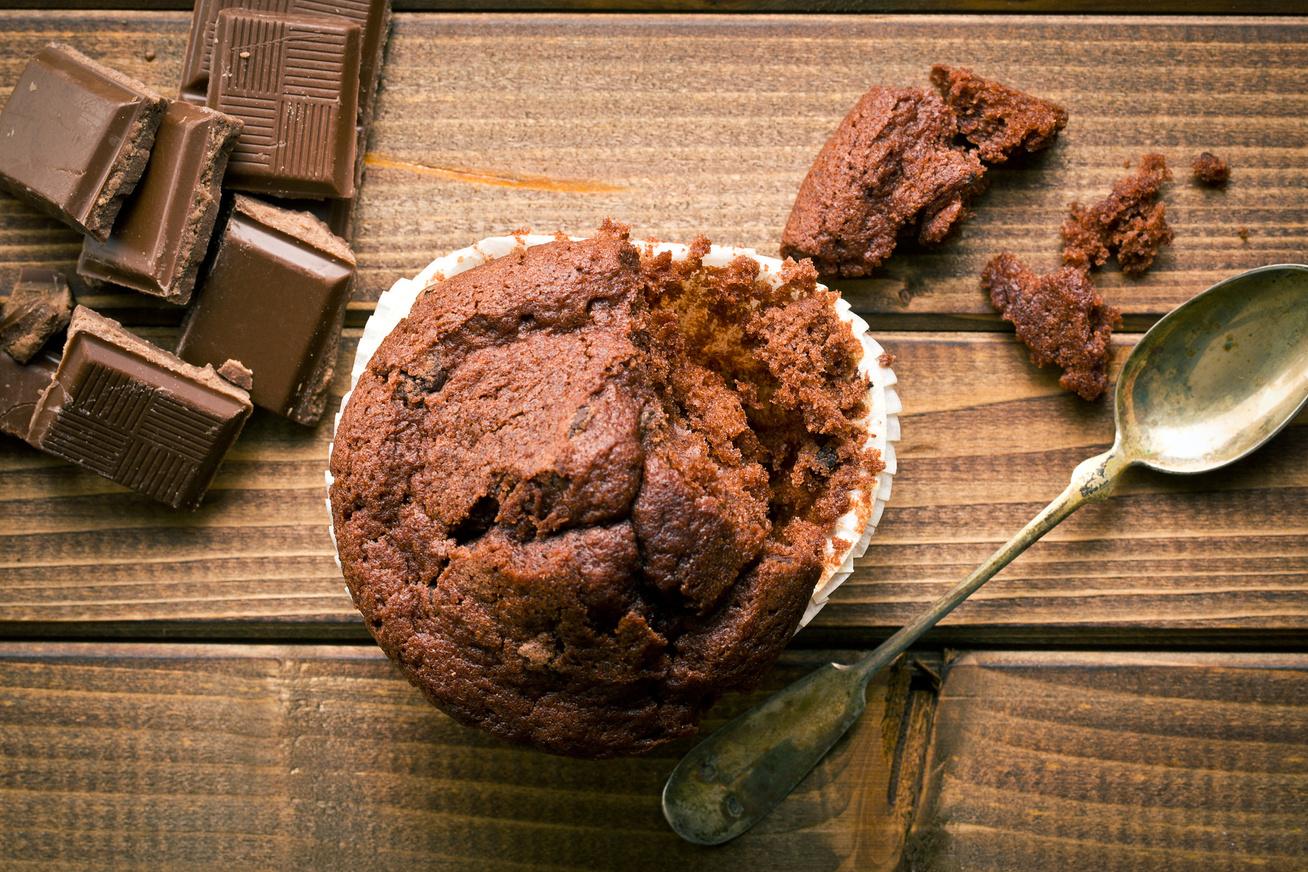 30 perces csupa csokis muffin