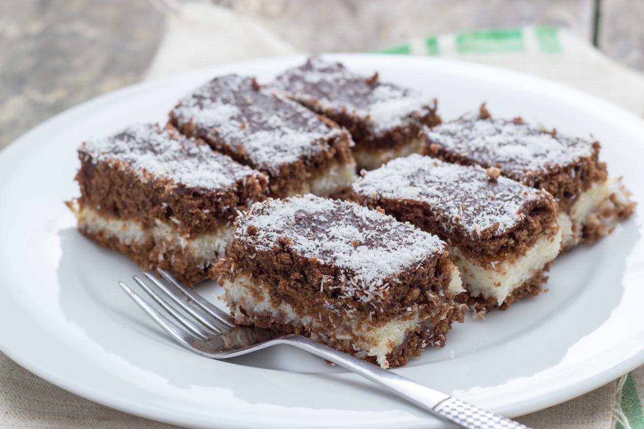Csokis-grízes krémes süti