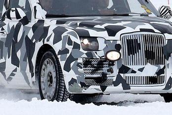 Kémfotón Putyin limuzinja