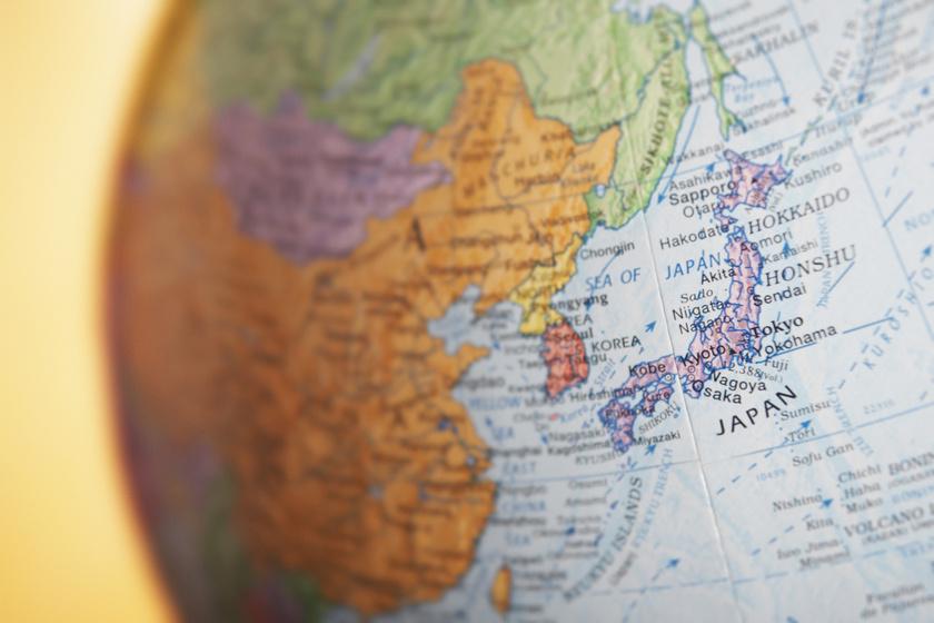 foldgomb orszagok japan azsia