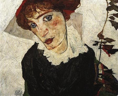 Egon Schiele - Wally portréja