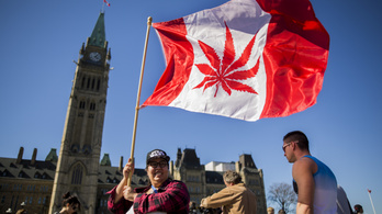 Legális lesz a fű Kanadában 2018-ban