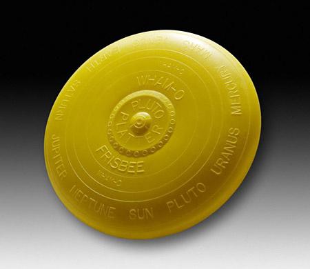Pluto Platter, az ősfrizbi