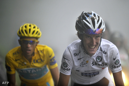 Alberto Contador és Andy Schleck