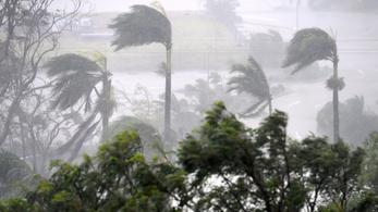 Félelmetes vihar tombol Ausztráliában