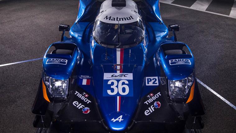 Bemutatták az új Alpine versenygépet