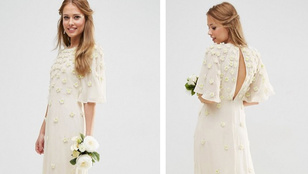Vennél fast fashion esküvői ruhát?