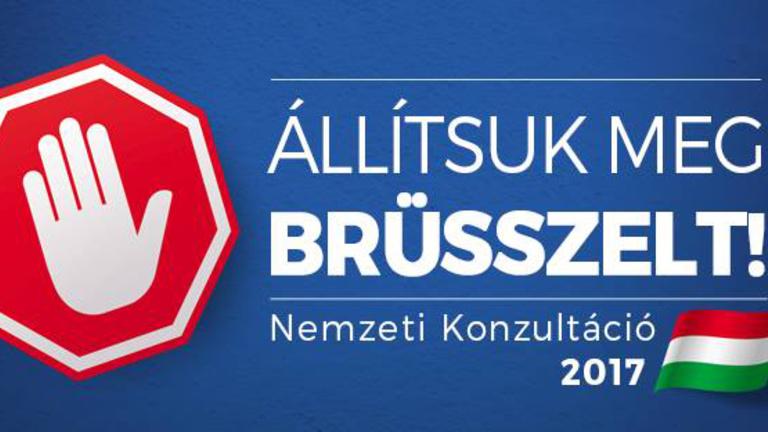 Megint üzenhet Brüsszelnek: itt a legújabb nemzeti konzultáció