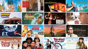 24 klasszikus, amit megnézhetsz a gyerekkel Netflixen