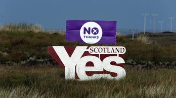 A skót parlament zöld utat adott a függetlenségi népszavazásnak