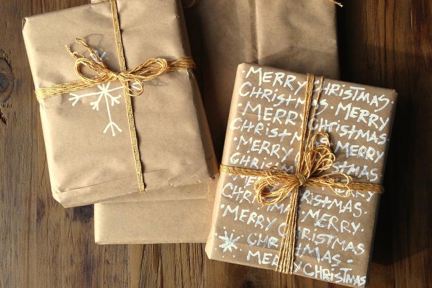 Olcsó, jó: álomszép ötleteket mutatunk barna csomagolópapírral