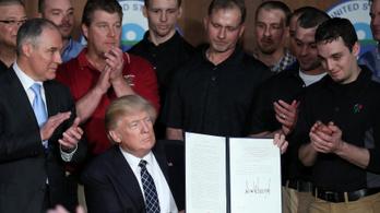 Trump eltörölte Obama klímavédelmi lépéseit