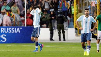 Levegő és Messi nélkül nem megy