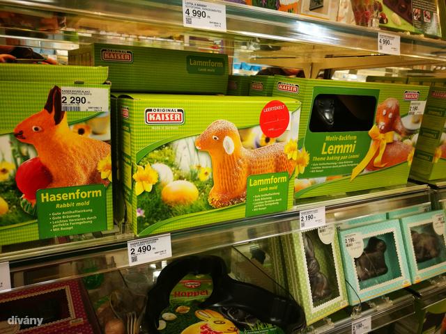 De fehér szemű zombibárányt, kutyának tűnő bárányt és mókusnak is eladható nyuszit is süthetsz.