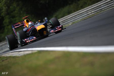 Vettel a 3. szabadedzésen