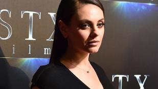 Mila Kunis szexisége mit sem csorbult második szülése után