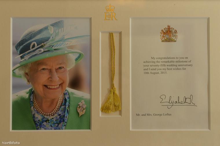 Tavaly egy oklevelet is kaptak a királynőtől 75